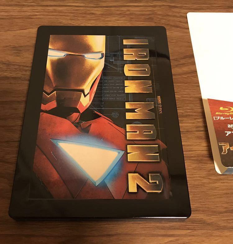 アイアンマン2 Blu-ray Amazon.co.jp限定 スチールブック仕様/完全数量限定 _画像3