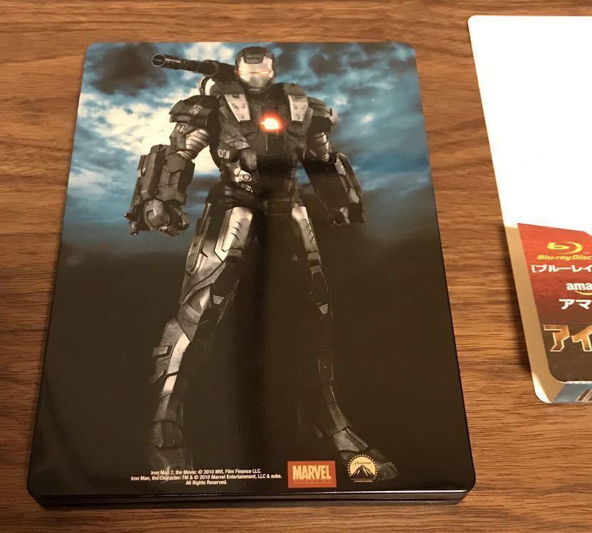 アイアンマン2 Blu-ray Amazon.co.jp限定 スチールブック仕様/完全数量限定 _画像4