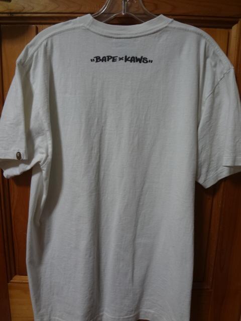 正規品 【 入手困難 】 A BATHING APE ア ベイシング エイプ KAWS カウズ Tシャツ ◆ NIGO BAPE NOWHERE_画像4