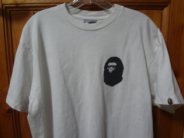 正規品 【 入手困難 】 A BATHING APE ア ベイシング エイプ KAWS カウズ Tシャツ ◆ NIGO BAPE NOWHERE