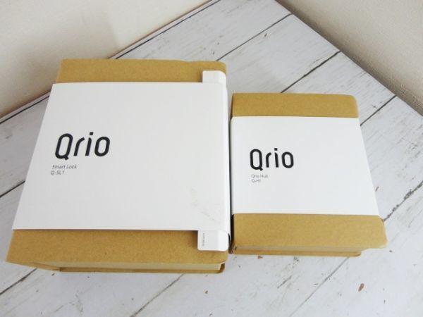 即出荷可 Qrio キュリオ Smart Lock スマートロック Q-SL1+Q-H1 セット 使用方法不明の為未チェック