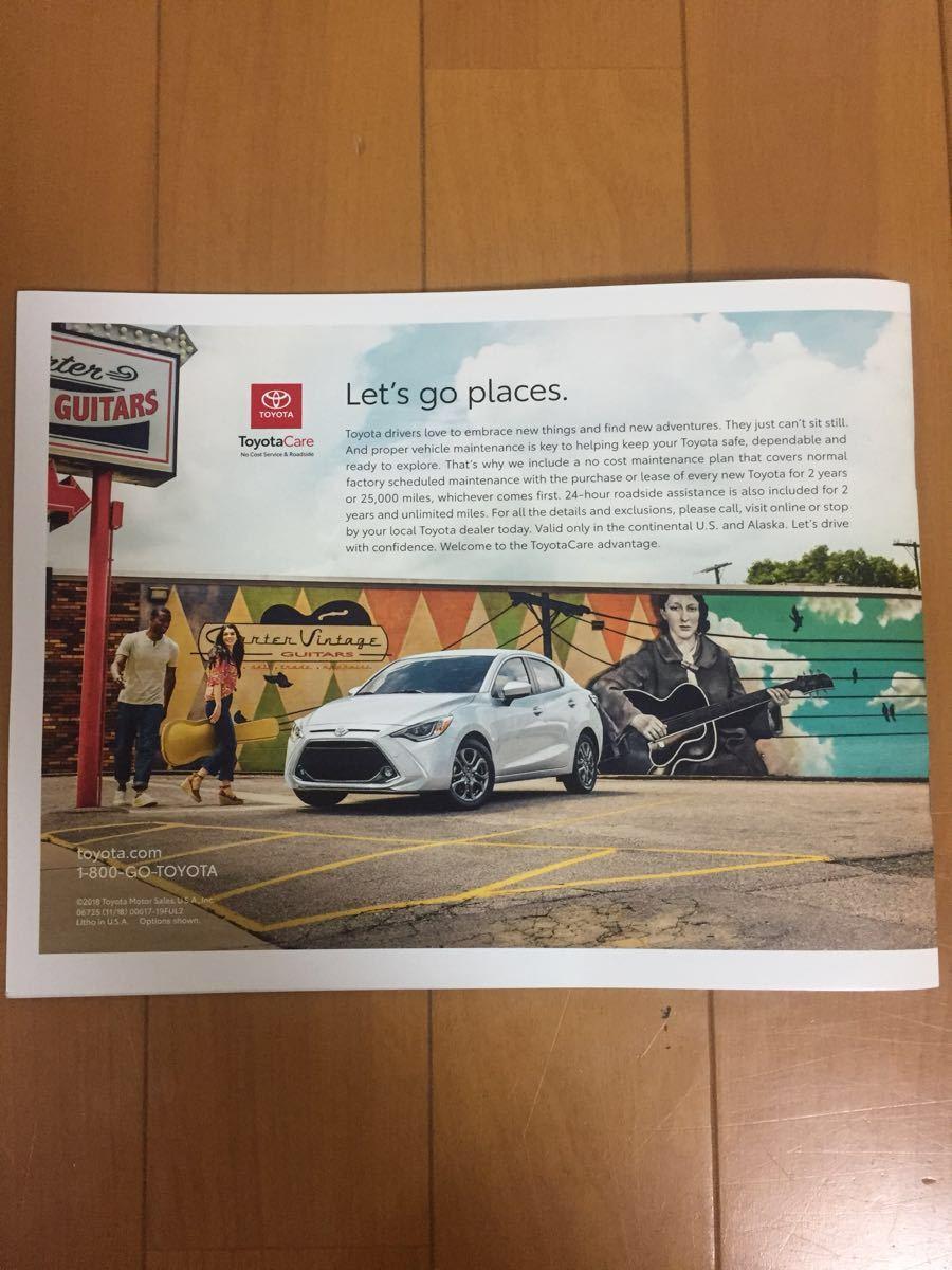 トヨタ Toyotaカタログ デトロイト モーターショー usdm USA 北米 オートショー