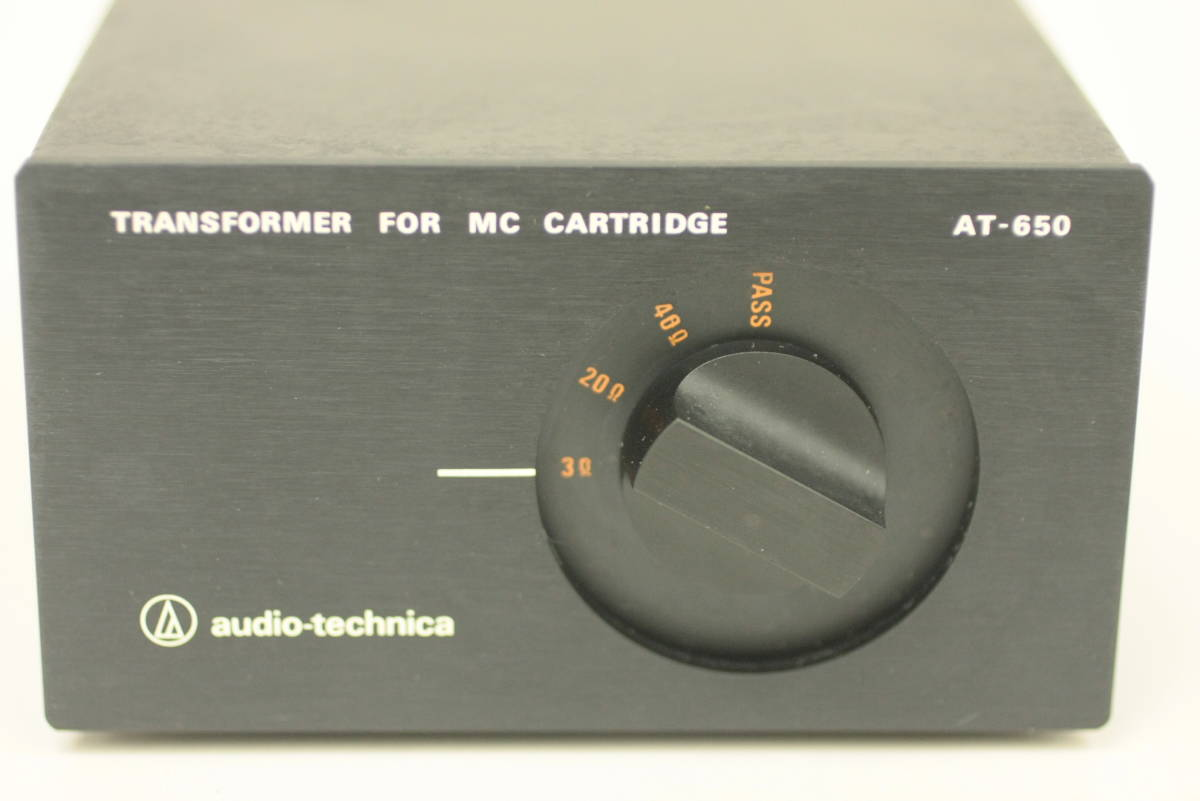 audio-technica オーディオテクニカ【AT-650】MC型昇圧トランス_画像2