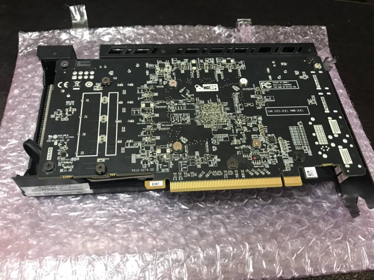 【中古・例のグラボ】 SAPPHIRE NITRO RX470 8GB MINING QUAD UEFI マイニングモデル 3_画像2