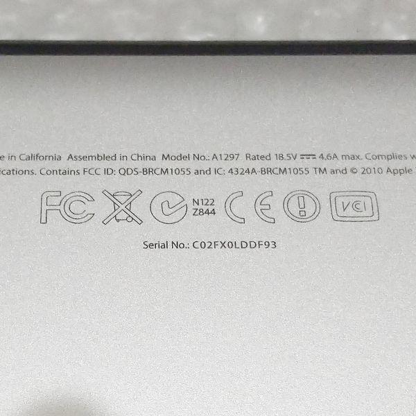 美品★ MacBook Pro 17 Core i7-4コア 新品SSD:250GB メモリ:8GB フルHD 充放電:295回 Office2016_画像6