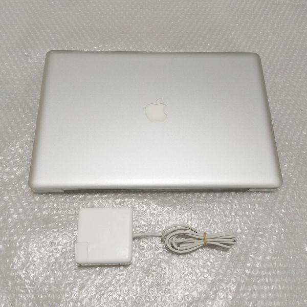 美品★ MacBook Pro 17 Core i7-4コア 新品SSD:250GB メモリ:8GB フルHD 充放電:295回 Office2016_画像2