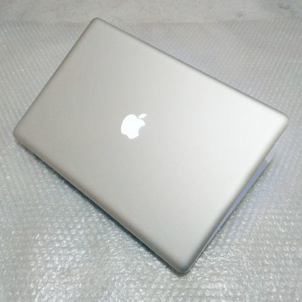美品★ MacBook Pro 17 Core i7-4コア 新品SSD:250GB メモリ:8GB フルHD 充放電:295回 Office2016_画像5