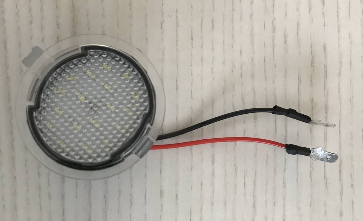 ジャンク品 格安 中古 即決 2011y- フォード エクスプローラー LEDアプローチランプユニット(ホワイト)ford_画像1