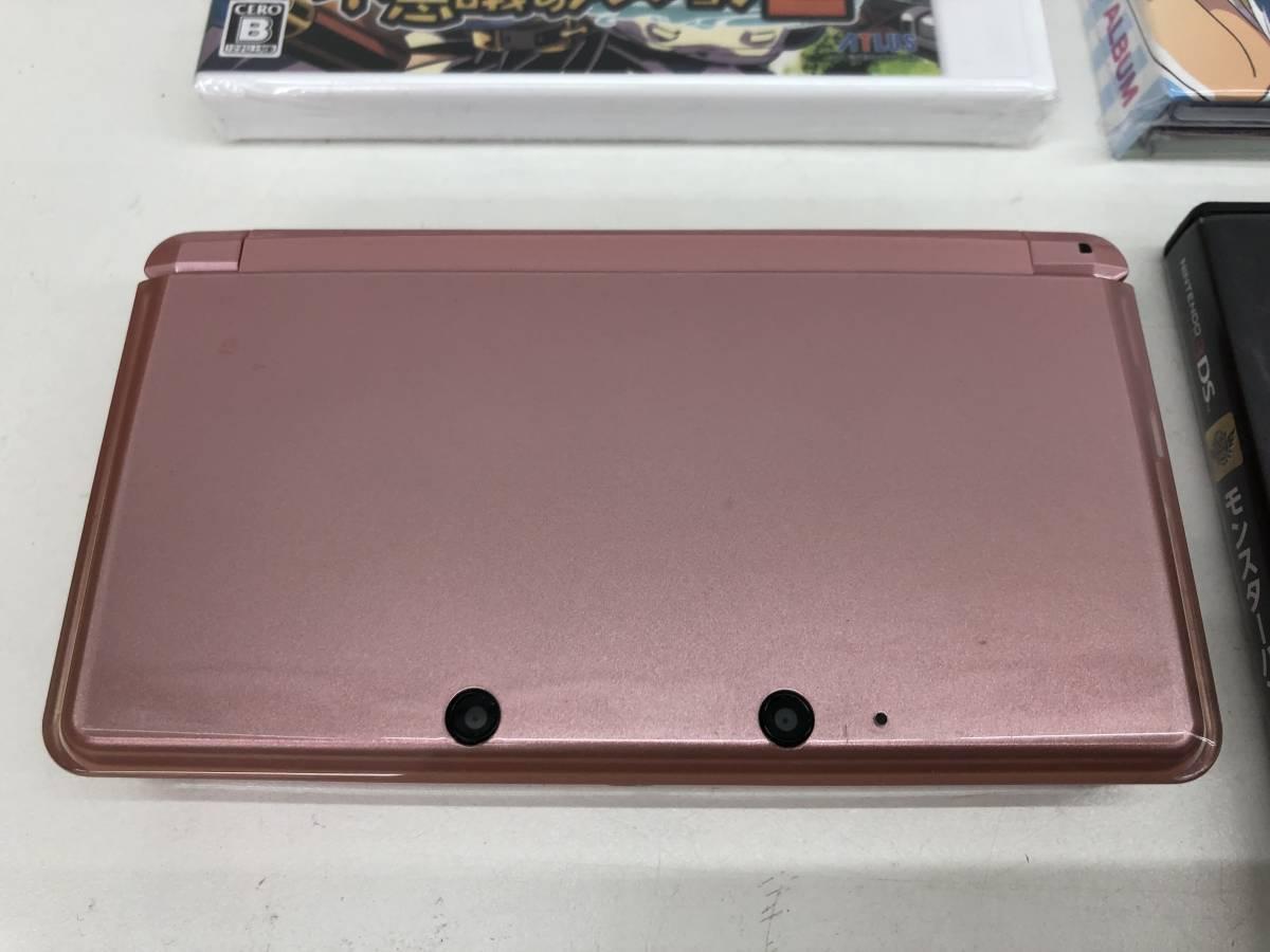 ☆NINTENDO 3DS 本体+新品未開封ソフト マリオ&ルイージRPG3 DX他ソフト多数 セット☆_画像2