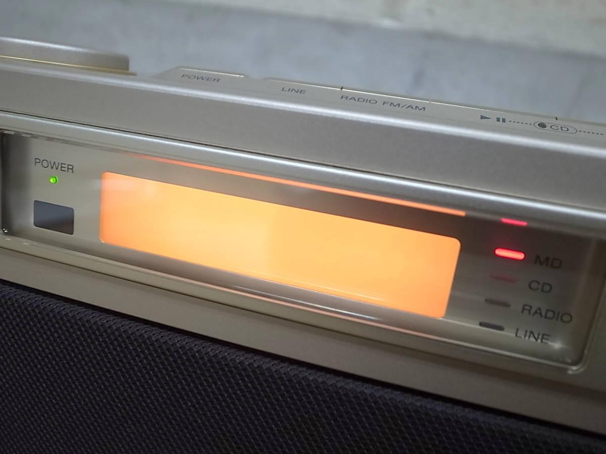 ★SONY/ソニー MD/CD/ラジオ セレブリティ2★MD-7000★現状品/ジャンク品♪_画像2