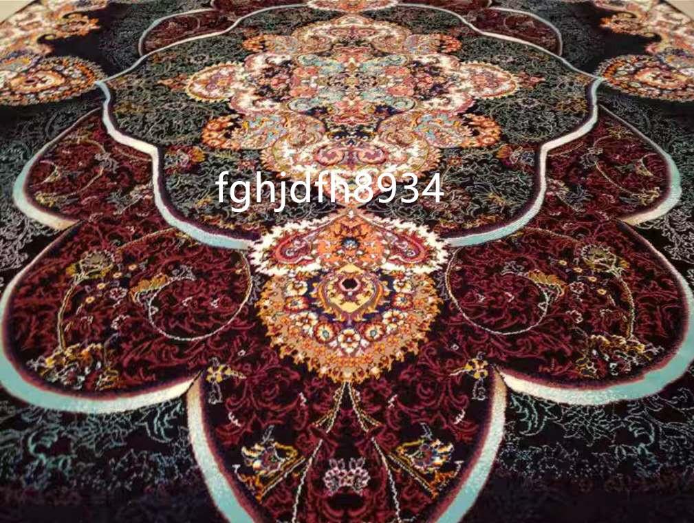 骨董品 古美術品☆豪華天然入イラン ペルシャ絨毯☆ウール高密度200万縫い針世界の名品☆2500*3500mm_画像2