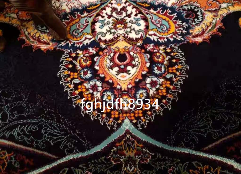 骨董品 古美術品☆豪華天然入イラン ペルシャ絨毯☆ウール高密度200万縫い針世界の名品☆2500*3500mm_画像4