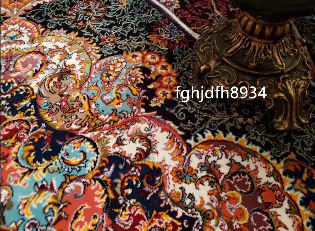 骨董品 古美術品☆豪華天然入イラン ペルシャ絨毯☆ウール高密度200万縫い針世界の名品☆2500*3500mm_画像5