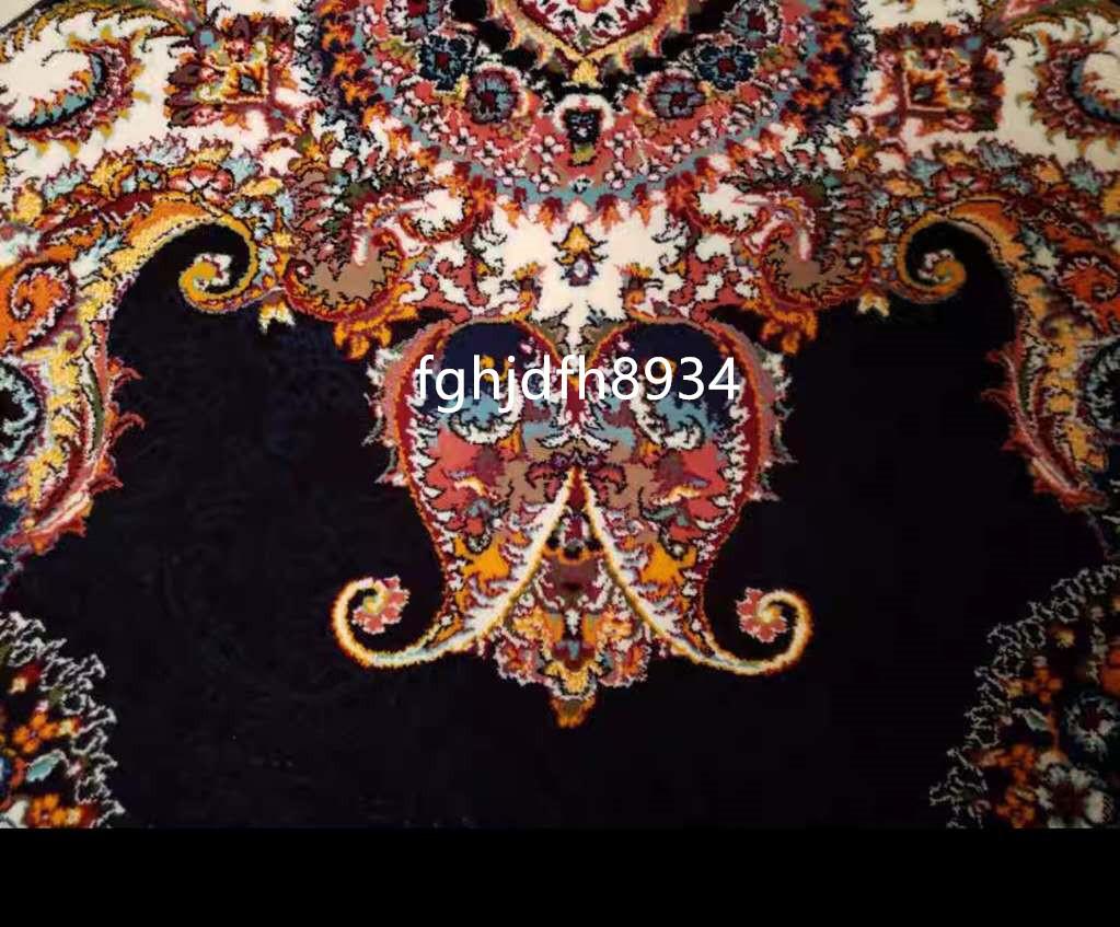 骨董品 古美術品☆豪華天然入イラン ペルシャ絨毯☆ウール高密度200万縫い針世界の名品☆2500*3500mm_画像3