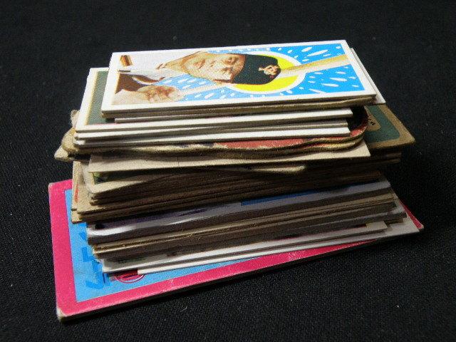 38 古い 野球 カード 色々 38枚 まとめて / 面子 長嶋茂雄 王貞治 _画像8