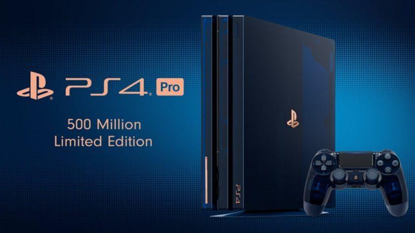 PS4 Pro 2TB ★PlayStation 4 Pro 500 Million Limited Edition (2TB) [CUH-7100BA50]★ プレステ4 5万台限定品 4K HDR_画像7