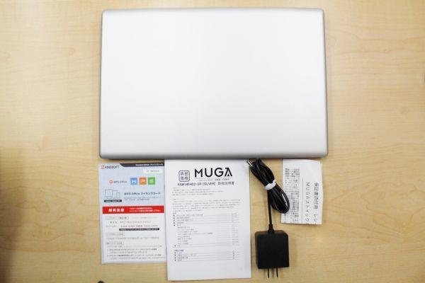 ドン・キホーテPC MUGA ストイックPC2  4GBメモリ 14インチ 軽量パソコン1.2kg箱付_画像9
