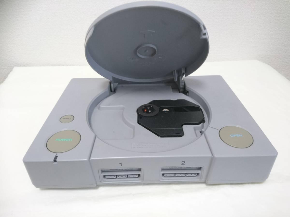 初代 PlayStation プレイステーション PS1 プレステ1 SCPH-5500 本体 SONY/ソニー 箱付き Y2019052206_画像3