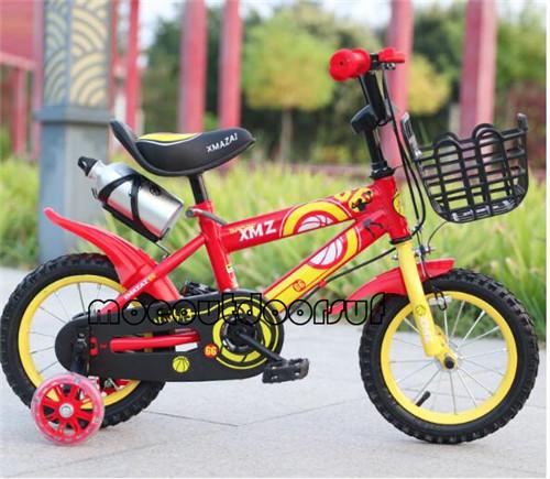 子供用自転車キッズバイク 12-16インチの男の子と女の子のサイクリング 補助輪付き moeo38