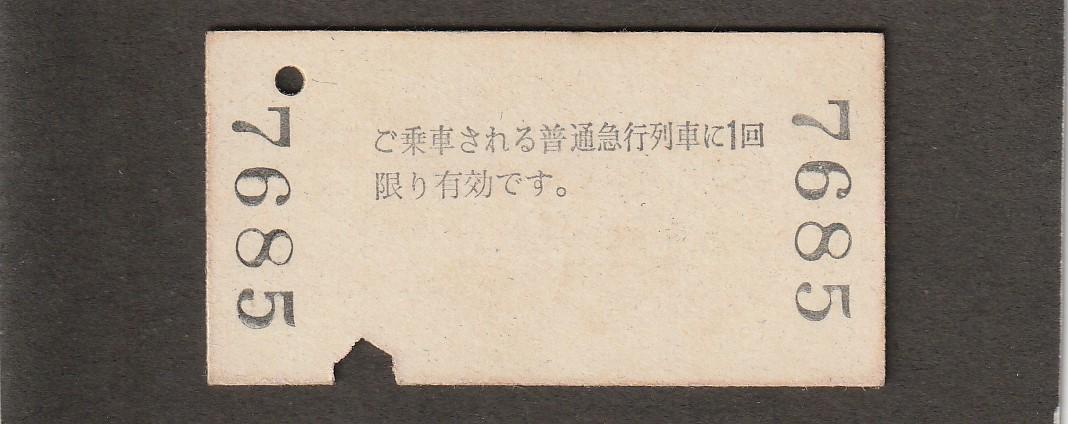 ◆急行券◆岐阜→200㎞まで◆_画像2