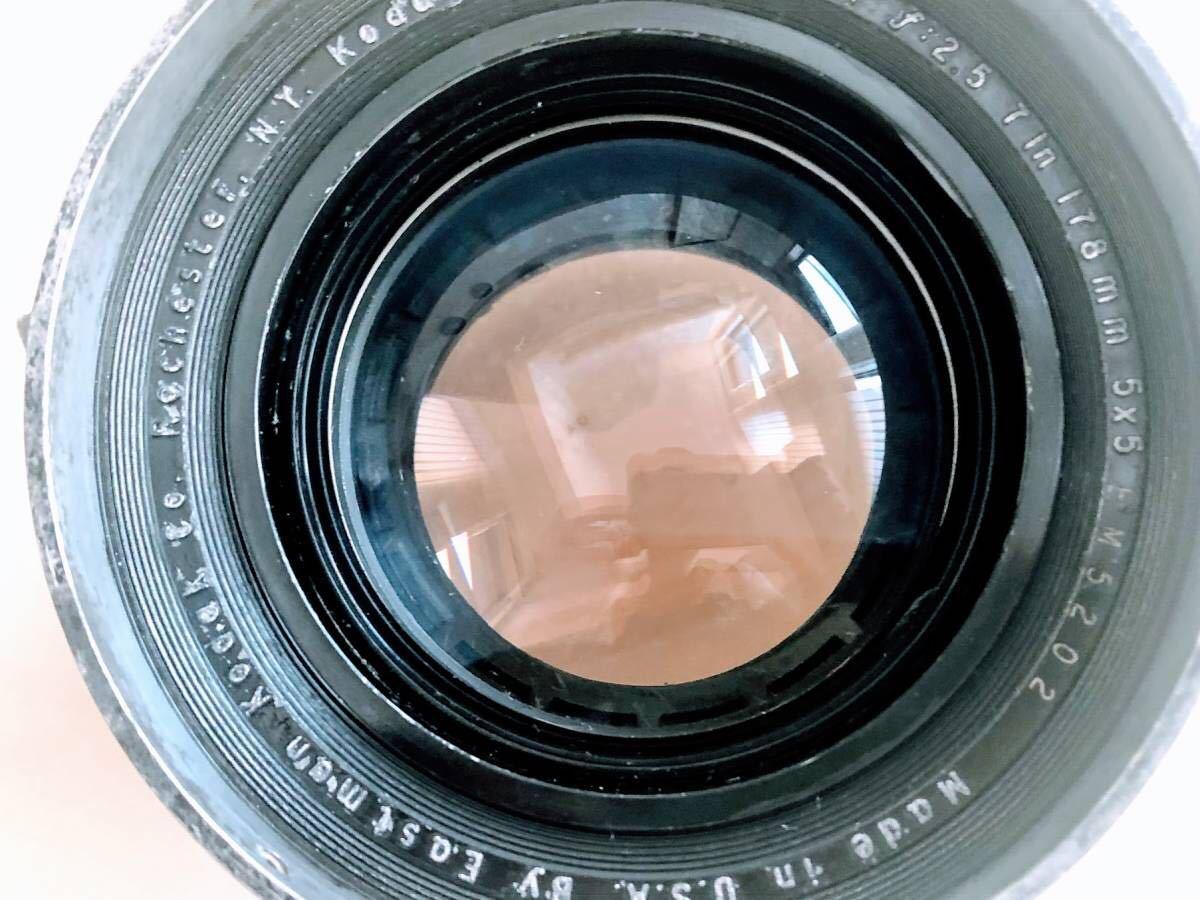 ★★★ 整備済 軍用スピグラ KE-12 + Kodak Aero Ektar 178mm/F2.5 スピグラ エアロエクター SG/AE_画像7