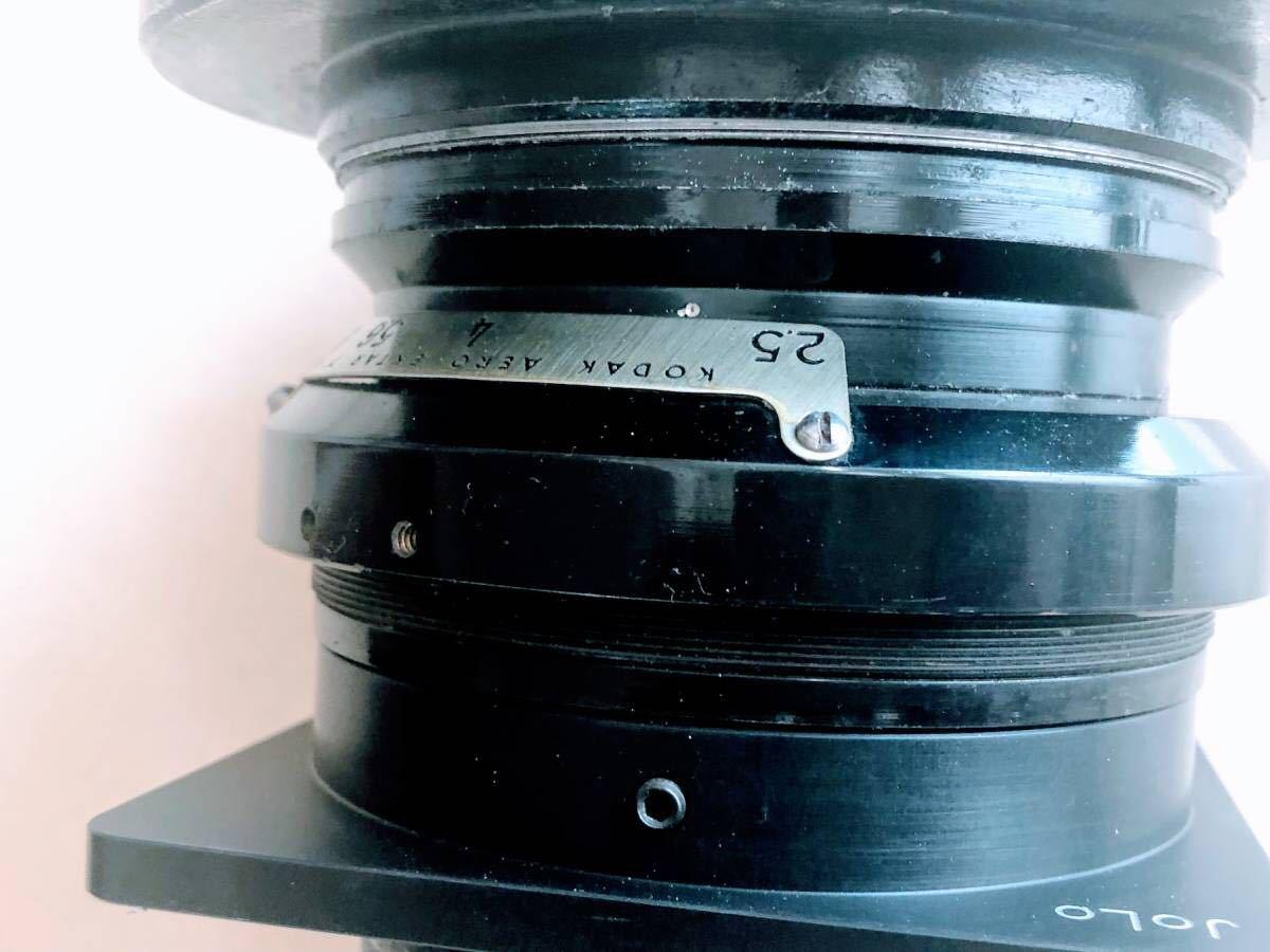 ★★★ 整備済 軍用スピグラ KE-12 + Kodak Aero Ektar 178mm/F2.5 スピグラ エアロエクター SG/AE_画像9