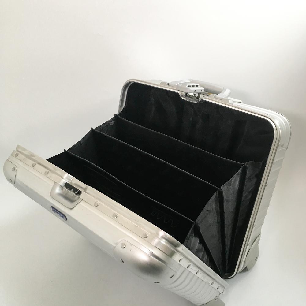 廃盤 リモワ トパーズ 928.40 ビジネス トローリー 2輪 TSAロック 28L _画像10
