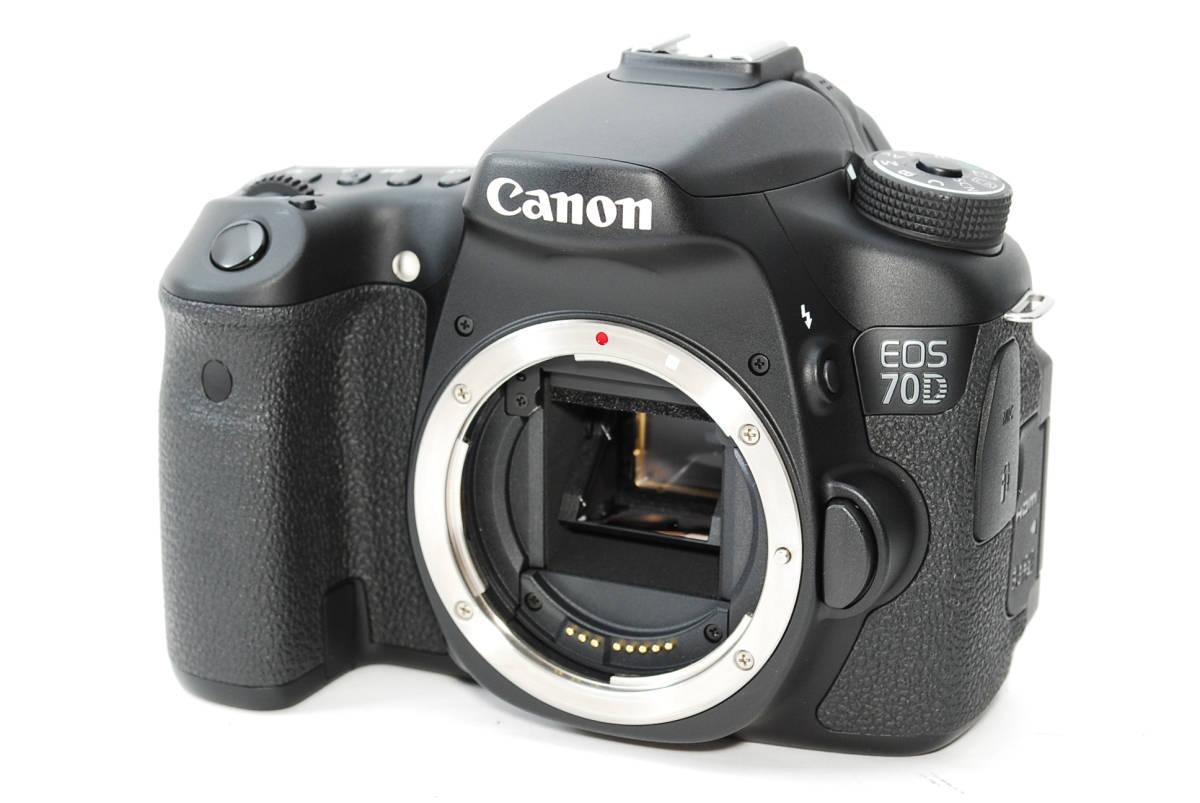 E0022★キャノン Canon EOS 70D 標準&望遠&単焦点 トリプルレンズセット_画像2