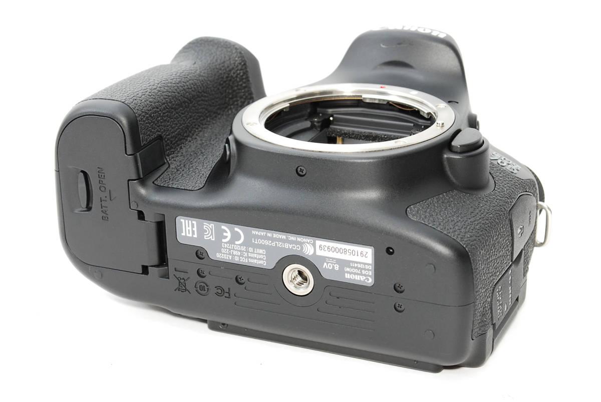 E0022★キャノン Canon EOS 70D 標準&望遠&単焦点 トリプルレンズセット_画像6