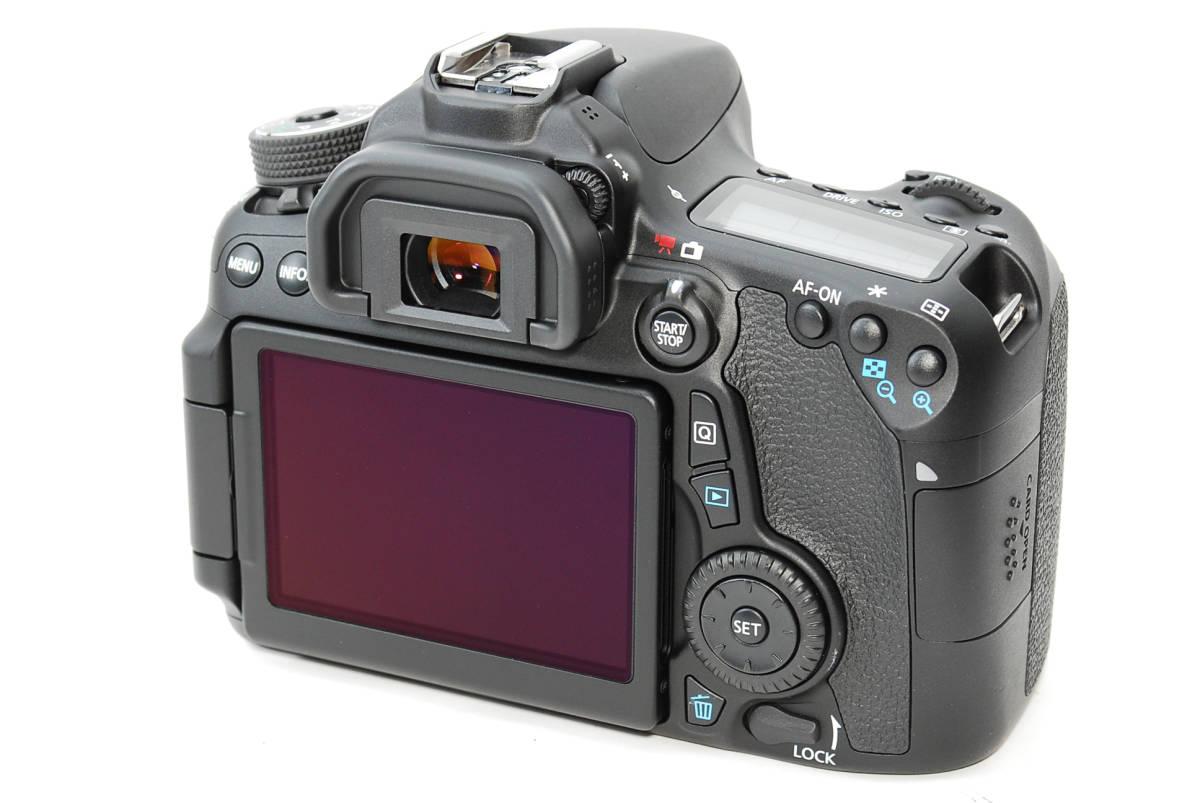 E0022★キャノン Canon EOS 70D 標準&望遠&単焦点 トリプルレンズセット_画像4