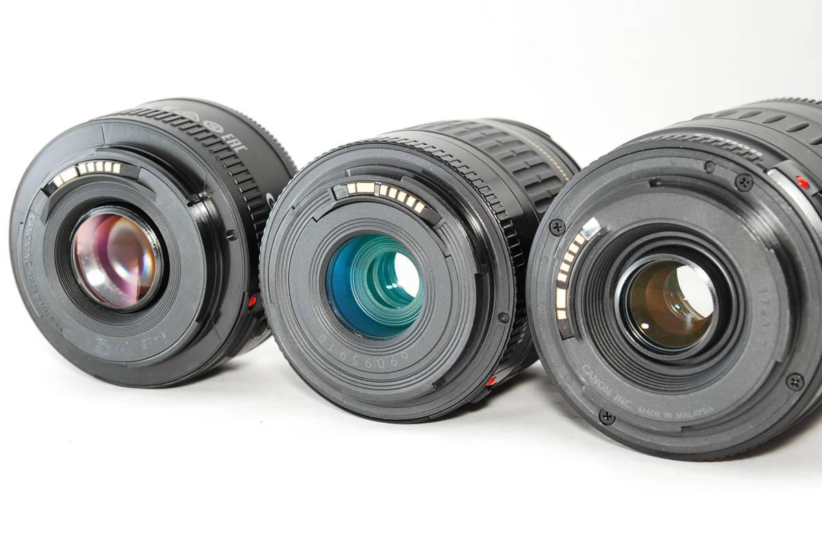 E0022★キャノン Canon EOS 70D 標準&望遠&単焦点 トリプルレンズセット_画像10
