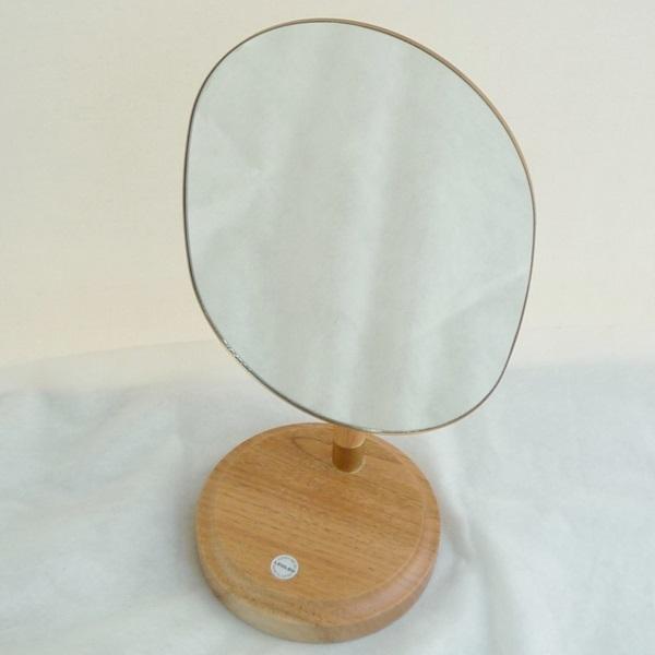 S7 CLASKA Gallery&ShopDO クラスカ ギャラリー&ショップドー テーブル 卓上 スタンド ミラー 鏡 真鍮使い 定価¥19440