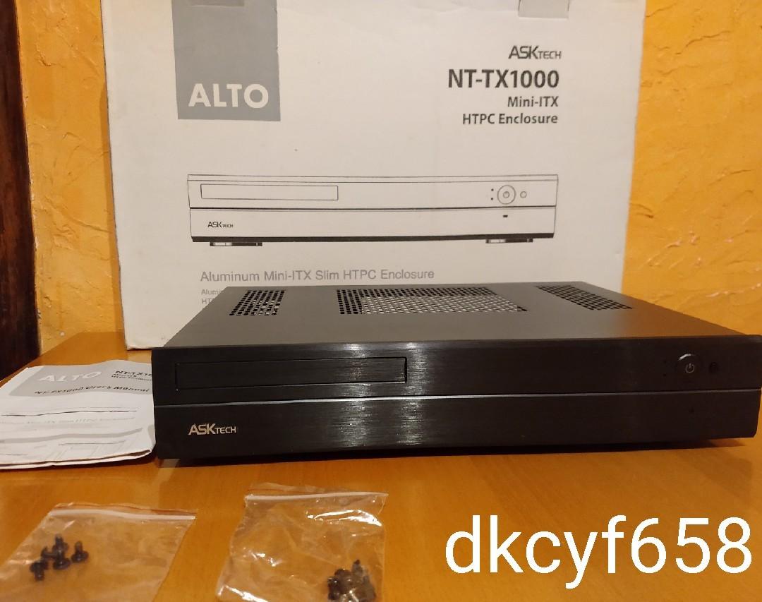 新品 ASK Tech NT-TX1000bk Mini-ITX HTPC