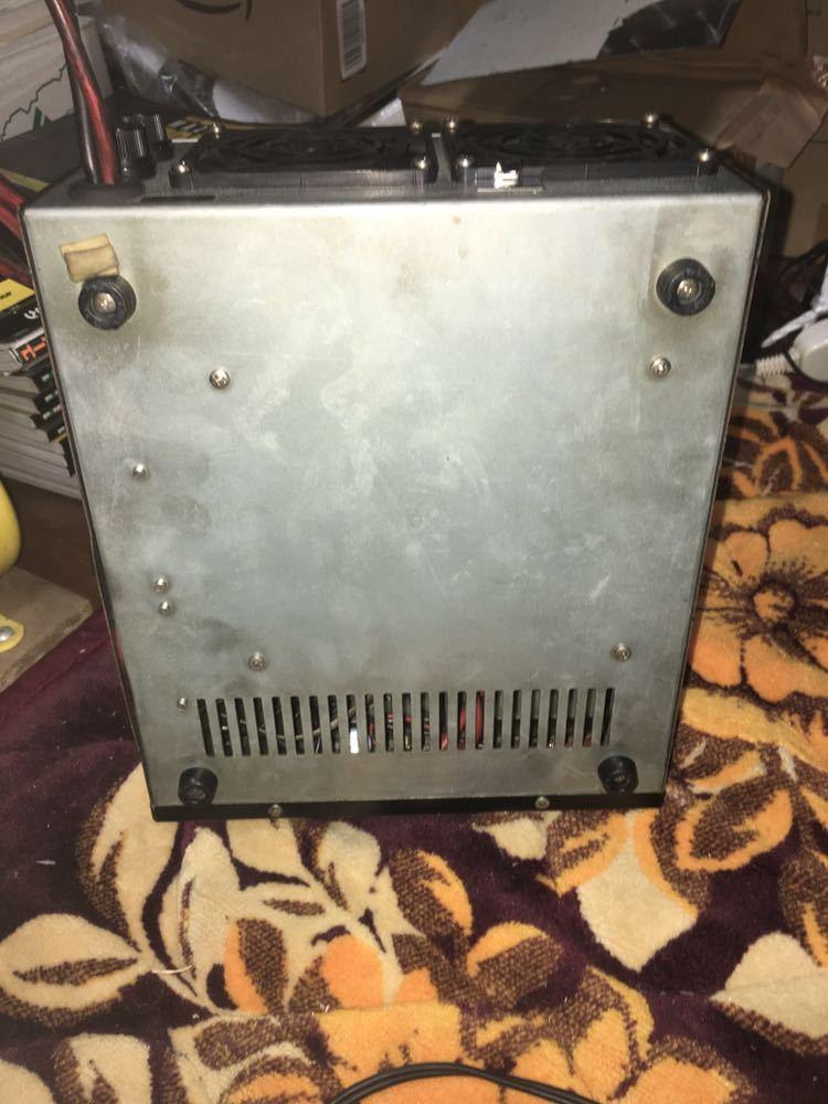 PUMA PS-60A markⅡ 24V→12V 60A DCDCコンバーター デコデコ 24V デコトラ トラック 無線 当時物_画像4