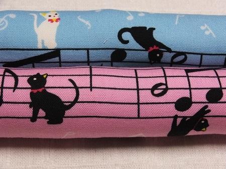 猫と音符・またたび入りロングキッカー2本組♪