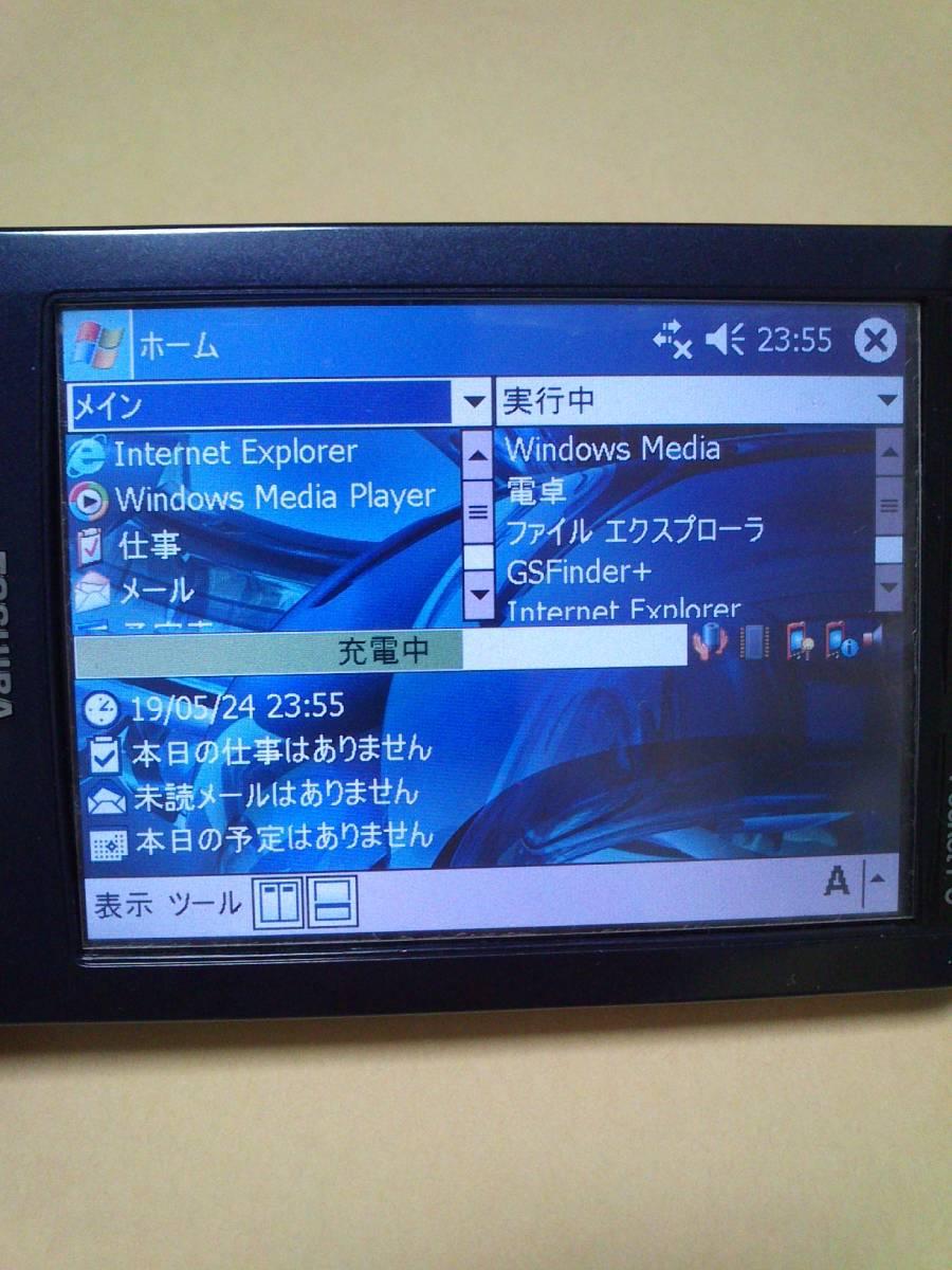 TOSHIBA PocketPC GENIO e830 PAPDA009 Windows Mobile 2003 東芝 PDA 中古 動作品