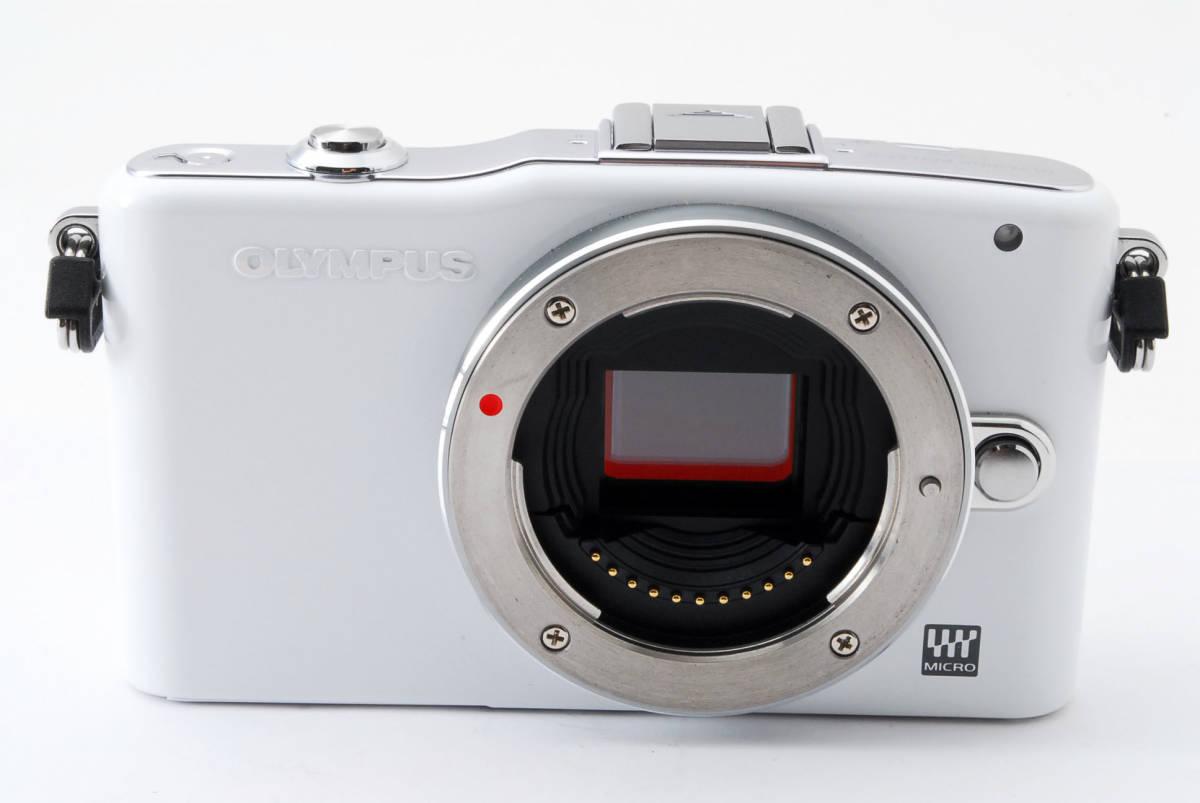 OLYMPUS オリンパス PEN mini E-PM1 body white *134_画像3