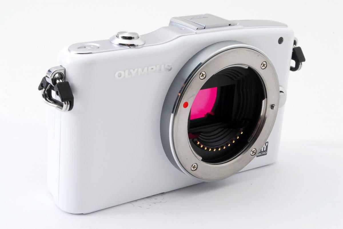 OLYMPUS オリンパス PEN mini E-PM1 body white *134_画像4