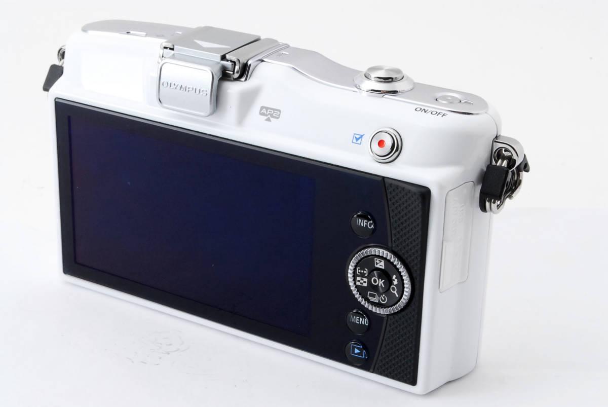 OLYMPUS オリンパス PEN mini E-PM1 body white *134_画像5