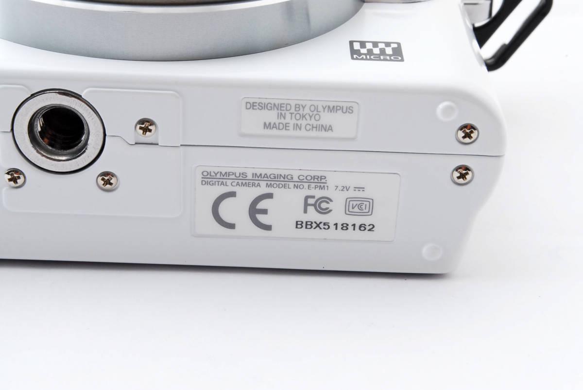 OLYMPUS オリンパス PEN mini E-PM1 body white *134_画像9
