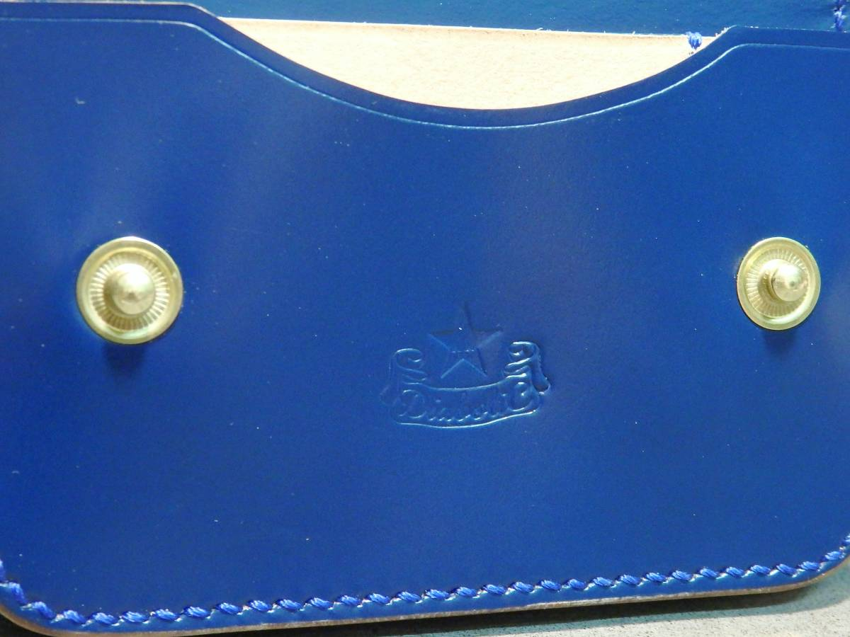 名刺入れ カードケース コードバン 手縫い レザーケース 定期入れ ハンドメイド レザークラフト 革小物 馬革 限定品 新品未使用 即決_画像5