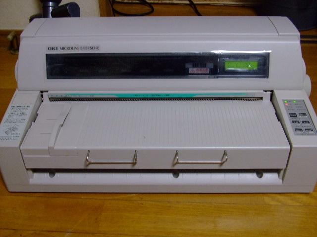 OKI/ドットインパクトプリンター/MICROLINE 8480SU-R