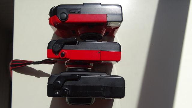 昭和レトロ コニカコンパクトカメラ使用可能3台_画像5
