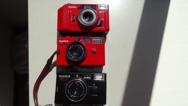 昭和レトロ コニカコンパクトカメラ使用可能3台