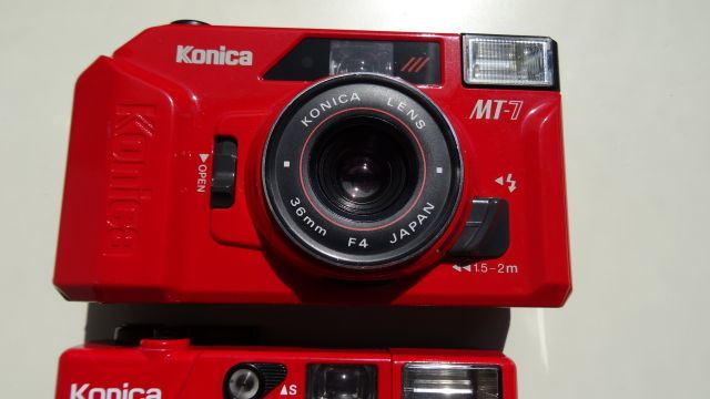 昭和レトロ コニカコンパクトカメラ使用可能3台_画像2