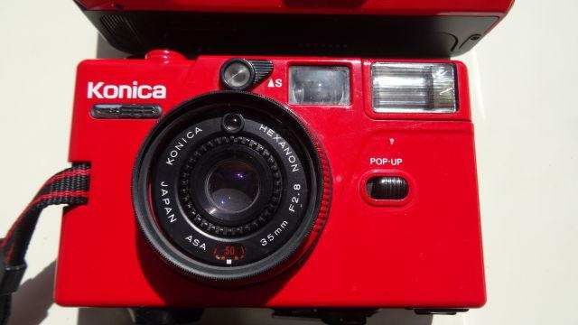 昭和レトロ コニカコンパクトカメラ使用可能3台_画像3