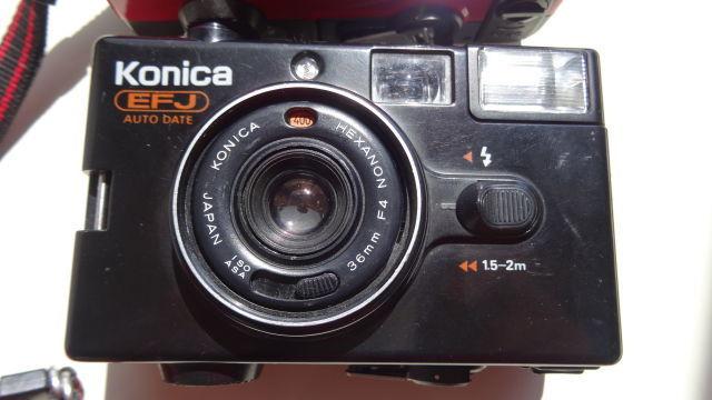 昭和レトロ コニカコンパクトカメラ使用可能3台_画像4