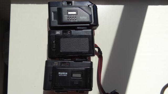昭和レトロ コニカコンパクトカメラ使用可能3台_画像6