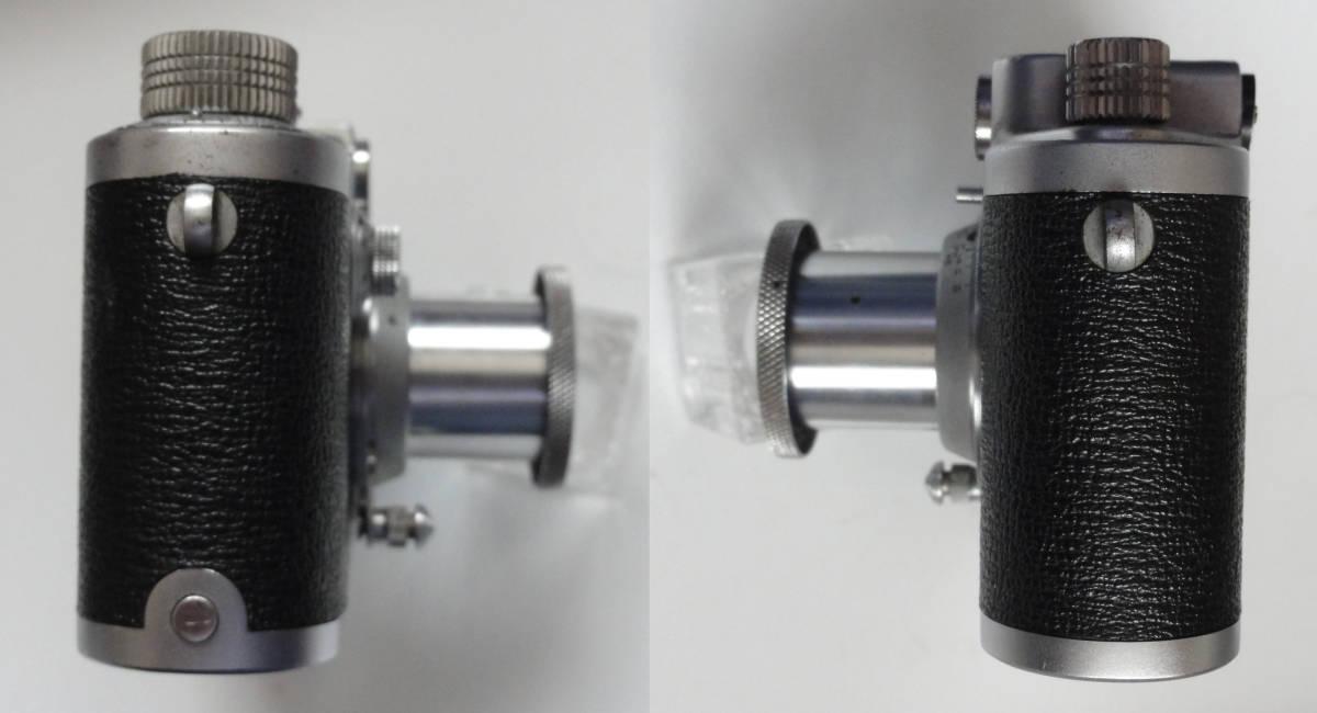 アンティークなニッカ3Fと東京光学のSimiar5cmF3.5沈胴式レンズ付き_画像10