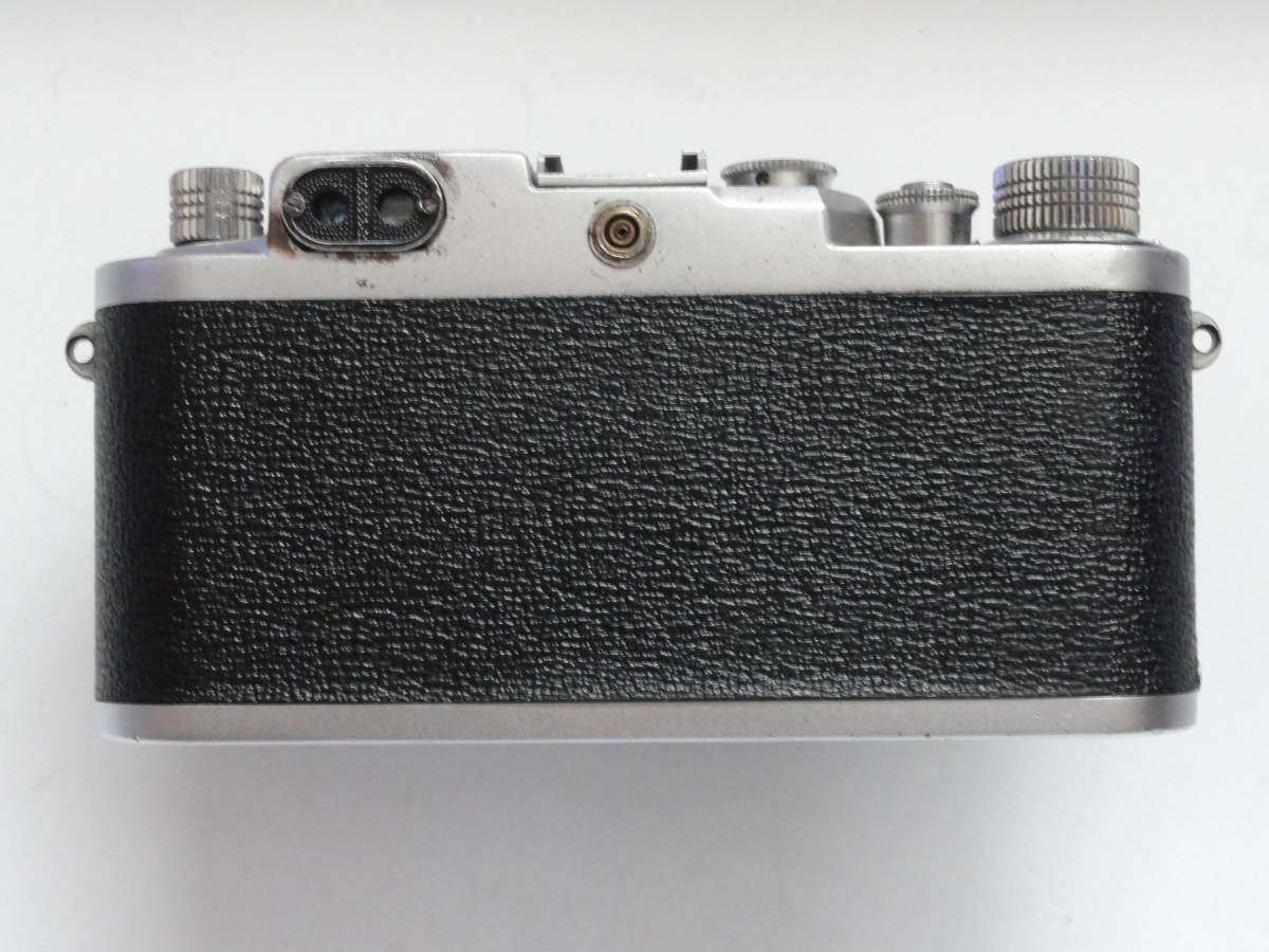 アンティークなニッカ3Fと東京光学のSimiar5cmF3.5沈胴式レンズ付き_画像4